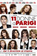 La locandina di 11 donne a Parigi