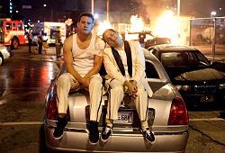 Channing Tatum e Jonah Hill in un momento di 21 Jump Street