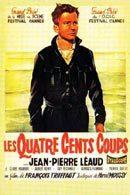 La locandina francese di I Quattrocento Colpi