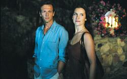 Stéphane Freiss e Géraldine Pailhas in CinquePerDue