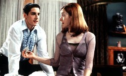 Jason Biggs e Alyson Hannigan in American Pie