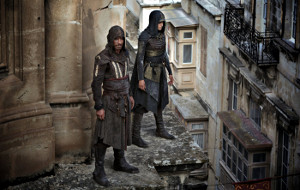 Michael Fassbender e Ariane Labed in Assassin's Creed