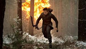 Jeremy Renner in una scena di Avengers: Age of Ultron