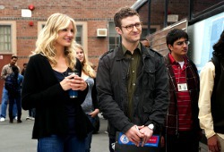 Cameron Diaz e Justin Timberlake in Bad Teacher