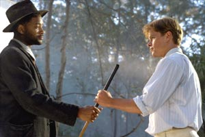 Will Smith e Matt Damon in La leggenda di Bagger Vance