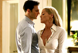 David Morrissey e Sharon Stone