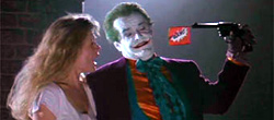 Kim Basinger e Jack Nicholson in Batman