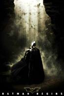La locandina statunitense di Batman Begins