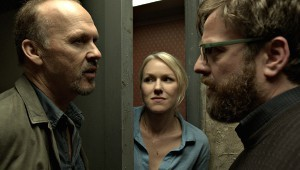 Michael Keaton, Naomi Watts e Zach Galifianakis in Birdman