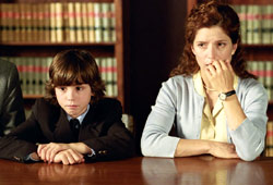 Logan Lerman e Melora Walters in The Butterfly Effect