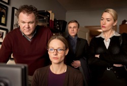 John C. Reilly, Jodie Foster, Christoph Waltz e Kate Winslet in Carnage