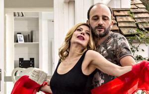 Benedicta Boccoli e Fabrizio Nardi in Ciao brother