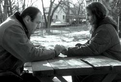 James Gandolfini e Joan Allen