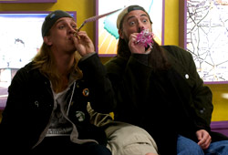Jason Mewes e Kevin Smith in Clerks II