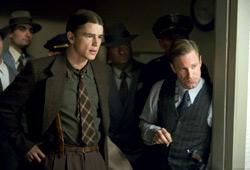 Josh Hartnett e Aaron Eckhart in Black Dahlia