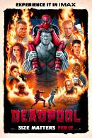 La locandina statunitense di Deadpool