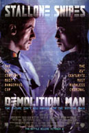 La locandina di Demolition Man