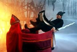 Andy Lau in una scena di Detective Dee e il mistero della fiamma fantasma