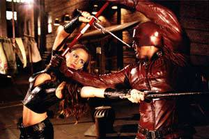 Jennifer Garner e Ben Affleck in Daredevil