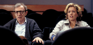 Woody Allen e Téa Leoni in Hollywood Ending