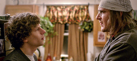 Jesse Eisenberg e Jason Segel in The End of the Tour - Un viaggio con David Foster Wallace