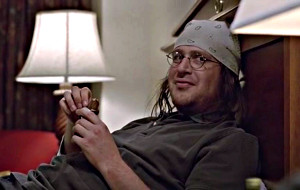 Jason Segel in The End of the Tour - Un viaggio con David Foster Wallace