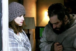 Emmanuelle Seigner e Vincent Gallo in Essential Killing