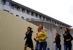 Kathrin Resetarits, Ursula Strauss, Gabriela Hegedüs, Birgit Minichmayr e Nina Proll in Falling