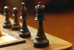 Una scena de La regina degli scacchi