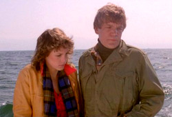 Jamie Lee Curtis e Tom Atkins in Fog