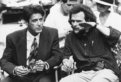 Al Pacino con il regista James Foley sul set di Americani