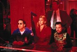Lorraine Bracco in una scena di Hackers