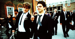 Andrew Knott e Dominic Cooper in The History Boys