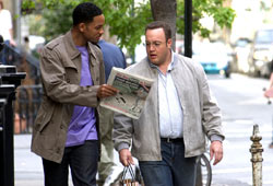 Will Smith e Kevin James in Hitch