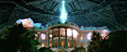 Una scena di Independence Day