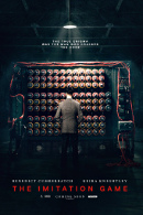 La locandina statunitense di The Imitation Game