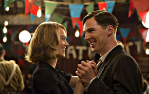 Keira Knightley e Benedict Cumberbatch in The Imitation Game