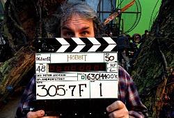 """Peter Jackson mostra il ciak di """"The Hobbit"""" in cui è ben visibile la velocità di 48 fps"""