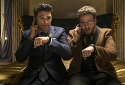James Franco e Seth Rogen in The Interview