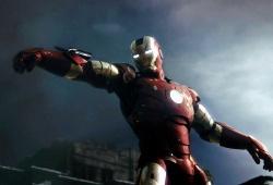 Una scena di Iron Man