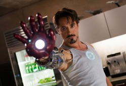 Robert Downey Jr in Iron Man