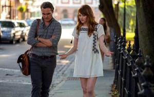 Joaquin Phoenix ed Emma Stone in Irrational Man
