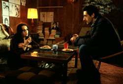 Keira Knightley e Adrien Brody in The Jacket