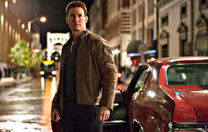 Tom Cruise in Jack Reacher - Punto di non ritorno
