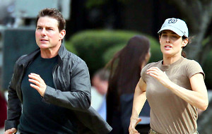 Tom Cruise e Cobie Smulders in Jack Reacher - Punto di non ritorno
