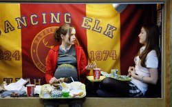 Ellen Page e Olivia Thirlby in Juno