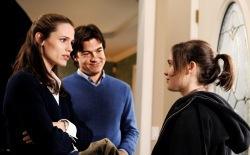 Jennifer Garner, Jason Bateman e Ellen Page in Juno