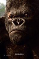 La locandina statunitense di King Kong