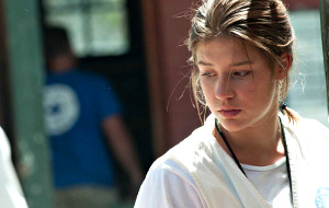 Adèle Exarchopoulos in The Last Face