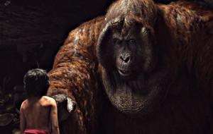 Mowgli e Re Louie in Il Libro della Giungla